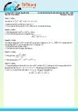 Đề thi thử đại học lần 2 môn toán năm 2008 - 2009 trường chuyên nguyễn huệ khối B