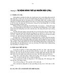Tự động đóng trở lại nguồn điện (TĐL) - Chương 9