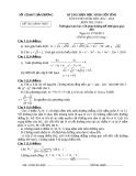 Đề thi học sinh giỏi môn toán lớp 9 năm 2013 tỉnh Hải Dương