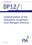 Implementation of the  Alternative Investment  Fund Managers Directive
