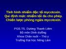 MYCOTOXIN VÀSỰ NGỘ ĐỘC THỰC PHẨMDO MYCOTOXIN