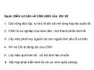 Quan điểm cơ bản về CNH,HĐH của  ĐH IIX