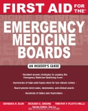 FIRST FOR  THE AID EMERGENCY MEDICINE BOARDS