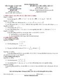 ĐỀ KIỂM TRA CHẤT LƯỢNG HỌC KỲ I Năm học: 2012 – 2013 Môn thi: TOÁN – LỚP 10