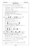 hướng dẫn giải đề  toán ôn thi đại học từ 31 đến 40