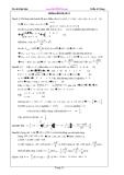 hướng dẫn giải đề  toán ôn thi đại học từ 21 đến 30