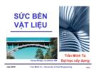 Bài giảng Sức bền vật liệu (ĐH Xây dựng) - Chương mở đầu
