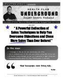 """"""" A Powerful Collection of   Sales Techniques to Help You  Overcome Objections and Close  More Sales Than Ever Before! """""""