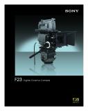 F23 Digital Cinema Camera