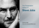 The Presentation  Genius of Steve Jobs