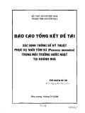 Xác định thông số kỹ thuật phục vụ nuôi tôm sú trong môi trường nước nhạt tại Khánh Hòa