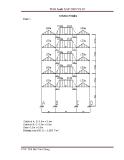 Bài tập ứng dụng SAP - hướng dẫn tính toán  khung phẳng