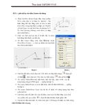 bài tập ứng dụng SAP - giảm nội lực cho dầm Limon cầu thang