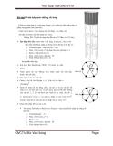bài tập ứng dụng SAP - tính tháp nước bê tông cốt thép