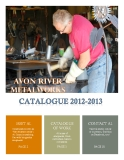 AVON RIVER METALWORKS CATALOGUE 2012-2013