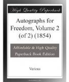 Autographs for Freedom, Volume 2