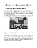 Nền giáo dục của Việt Nam từ thế kỷ 14 đến cuối thế kỷ 19