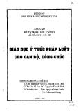 Nghiên cứu cơ chế xã hội hóa một số lĩnh vực dịch vụ công cộng tài TP.Hồ Chí Minh