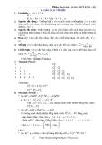 Bài tập toán 12 - Giải tích