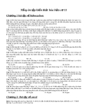 Tổng ôn tập kiến thức hóa hữu cơ 11