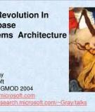 The Revolution in Database Architecture