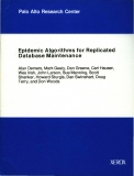 Epidemic Algorithms for Replicated Database Maintenance