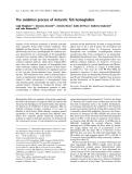 Báo cáo khoa học: The oxidation process of Antarctic fish hemoglobins