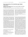 Báo cáo khóa học:  Direct electrochemistry of the Desulfovibrio gigas aldehyde oxidoreductase
