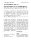 Báo cáo khóa học: Structural properties of the protein SV-IV