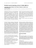 Báo cáo khoa học: Fibroblast growth-stimulating activity of S100A9 (MRP-14)