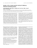 Báo cáo khoa học: Analysis of the in planta antiviral activity of elderberry ribosome-inactivating proteins