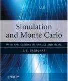 Simulation and Monte Carlo With applications in finance and MCMC