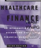 HEALTHCARE FINANCE An Introduction to Accounting and Financial Management Third Edition