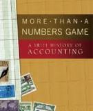 More Than a Numbers Game: A Brief Histor y of Accounting