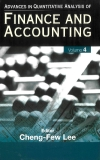 ADVANCES IN QUANTITATIVE ANALYSIS OF FINANCE AND ACCOUNTING Volume 4