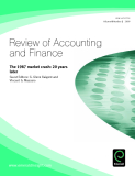 Review of Accounting and Finance Volume 8