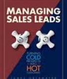 ADAPTING TOTAL QUALITY MANAGEMENT TECHNIQUES TO THE  DISCIPLINE OF SALES LEAD MANAGEMENT