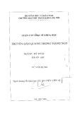 Luận văn:Truyền dẫn quang trong mạng NGN