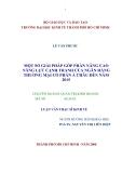 LUẬN VĂN:MỘT SỐ GIẢI PHÁP GÓP PHẦN NÂNG CAO NĂNG LỰC CẠNH TRANH CỦA NGÂN HÀNG THƯƠNG MẠI CỔ PHẦN Á CHÂU ĐẾN NĂM 2015