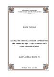 Luận văn: Giải pháp phát triển sản phẩm dịch vụ tài chính ngân hàng tại ngân hàng Thương Mại Cổ phần Việt Nam - Huỳnh Thái Bảo