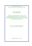 LUẬN VĂN:MỘT SỐ GIẢI PHÁP NÂNG CAO HIỆU QUẢ HOẠT ĐỘNG BÁN HÀNG QUA NHÂN VIÊN TẠI CHI NHÁNH NGÂN HÀNG ĐẦU TƯ VÀ PHÁT TRIỂN THÀNH PHỐ HỒ CHÍ MINH