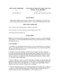 Quyết định số 122/QĐ-TTg