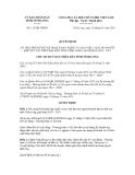 Quyết định số 112/QĐ-UBND