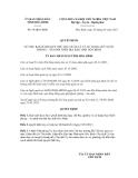 Quyết định số  99/QĐ-UBND