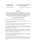 QUYẾT ĐỊNH SỐ 04/2013/QĐ-UBND