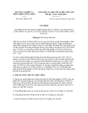 Tờ trình số 83/TTr-BNN-TCTL