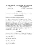 Quyết định số 189/QĐ-TTg