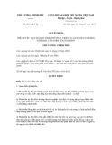 Quyết định số 201/QĐ-TTg