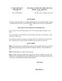 Quyết định số 152/QĐ-UBND