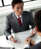 Những hành động gây sốc tại buổi phỏng vấn
